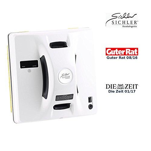 *Sichler Haushaltsgeräte Fensterputzroboter: Intelligenter Profi-Fensterputz-Roboter PR-041 V3 mit Fernbedienung (Fensterreinigungsroboter)*