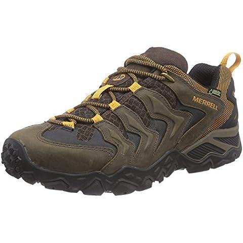 Merrell Chameleon Shift Ventilator Gore-Tex - Zapatos de senderismo de cuero para hombre