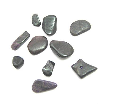 10 Stück Trommelstein Sugilith mini 5-7 mm Set