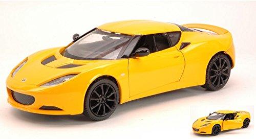 lotus-evora-s-2012-yellow-124-motormax-auto-stradali-modello-modellino-die-cast
