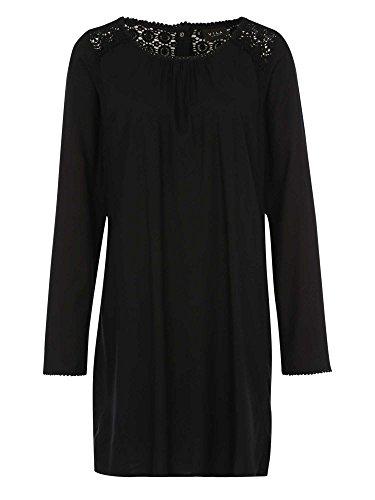 VILA Damen Kleid schwarz S