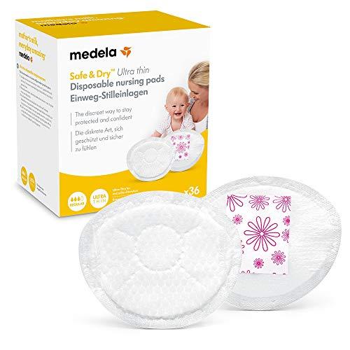 Medela Einweg-Stilleinlagen Safe & Dry Ultra Thin, 36 Stk
