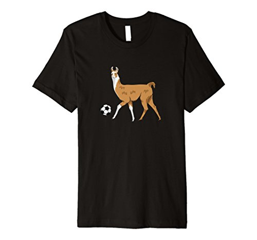 Fußball Lama T-Shirt