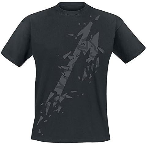 Metallica M - Black Album T-shirt noir M