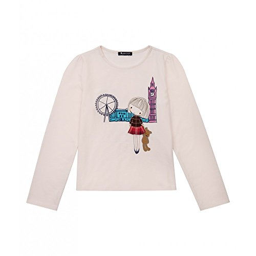 aquascutum-junior-girls-pink-london-scene-t-shirt-pink-6-years