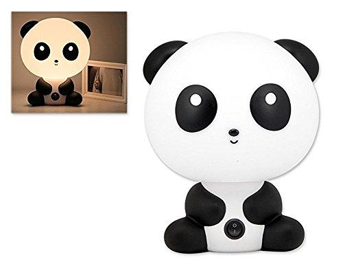 CAOLATOR Lámpara de Dibujos Animados,lámpara de Mesa con Forma de la Panda,Sencillo, Lindo, Creativo, Puede Ayudar a los niños a Dormir
