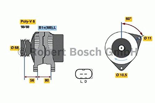 Bosch 0 124 515 044 Alternateur