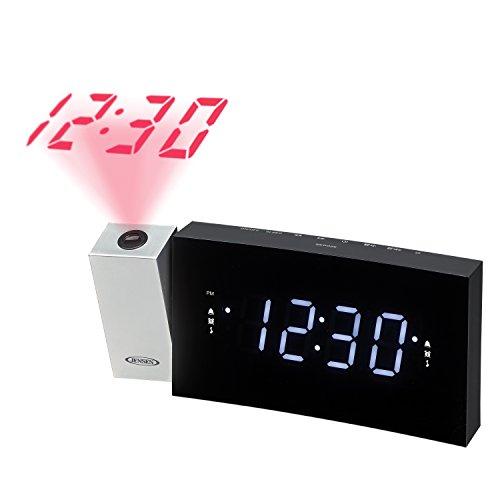 Jensen JCR-238 Digitaler Funkwecker mit Projektion Jensen Ipod Clock Radio