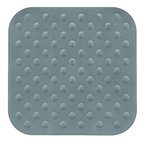 Kleine Wolke Formosa, Shower mat, 53x 53 cm, Anthracite, Rubber