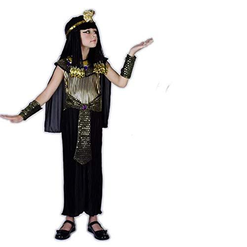 (thematys Pharao Ägypten Kostüm-Set für Kinder - perfekt für Fasching, Karneval & Cosplay - Verschiedene Größen (L))