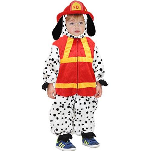 Costume di carnevale cane pompiere (3 - 4 anni)