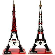 "Pop Out mundo 3d Puzzle–3d arte serie ""La Torre Eiffel con Anna Gili–Cachorros (macho y hembra)"""