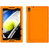 BobjGear Carcasa Resistente Para Tablet Lenovo Tab S8-50 - Bobj Funda Protectora (Naranja)