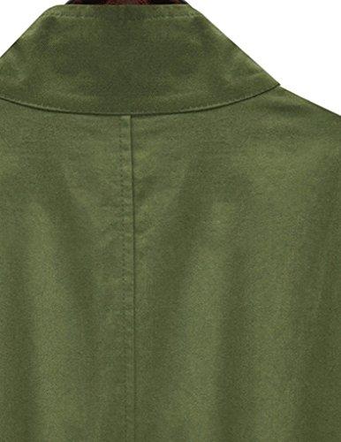 Jollychic - Manteau - Style classique - Femme Vert armée