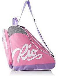 Rio Roller Script Skate Bag, Bolsa de Tela y de Playa Unisex Adulto, 24x15x45 cm (W x H x L)