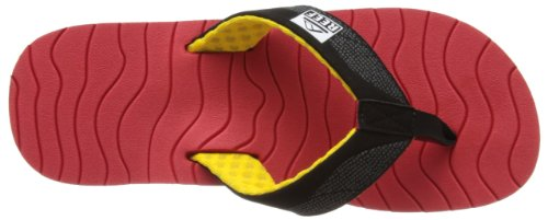 Reef  Reef Roundhouse, Tongs pour homme Rouge - Rasta