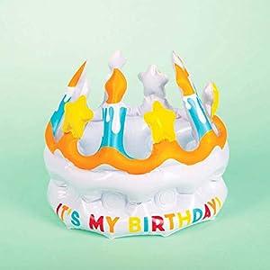 Fizz Creations 0685M - Corona Hinchable para cumpleaños