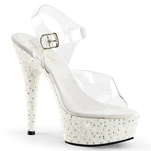 Luxus Sandalette, Damen, Weiss (weiss) Weiss (weiss)