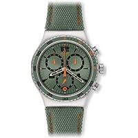 Swatch - Orologio da polso, cronografo al quarzo, tessuto - Swatch Irony Cronografo