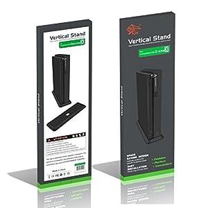 Xbox One X Vertikaler Standfuß – Vertikaler Ständer mit rutschfesten Füßen für Xbox One X