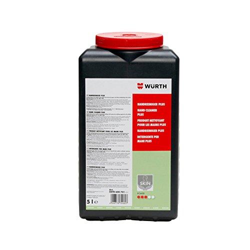 Preisvergleich Produktbild Würth Handreiniger Handwaschpaste Seife stark Eimer 5l