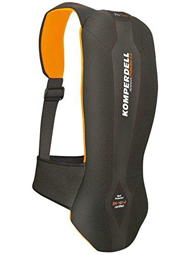 Komperdell Adulto Protect PRO Pack '16Protettore, Nero/Arancione, 6228–20, Protect PRO Pack' 16, Unisex, Protektor ProtectProPack'16, Nero/Arancione, L