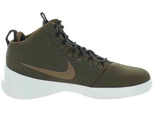 Nike Hyperfr3sh, espadrilles de basket-ball homme Vert / blanc (kaki foncé / blanc sommet)
