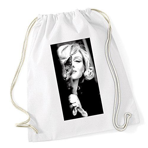 Certified Freak Marilyn Cat Sac De Gym Blanc