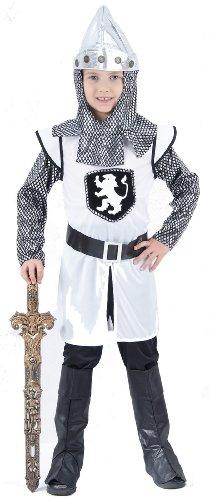 Costume cavaliere medievale crociato bambino 10 -