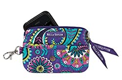 Bella Taylor Paisley Punch Quilted Gadget Pouch