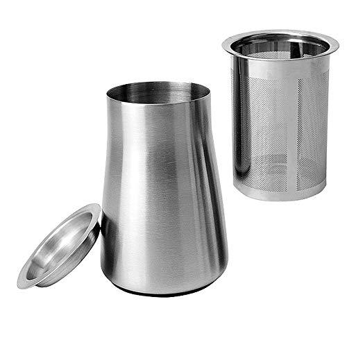 SZRWD Kaffee Filter Tassen, 63 * 73 * 106MM Edelstahl-Kaffeesieb/Kaffee Perkolator Sieb/Kaffeemühle...