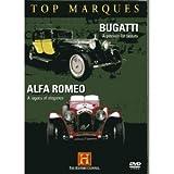 Top Marques - Bugatti and Alfa Romeo