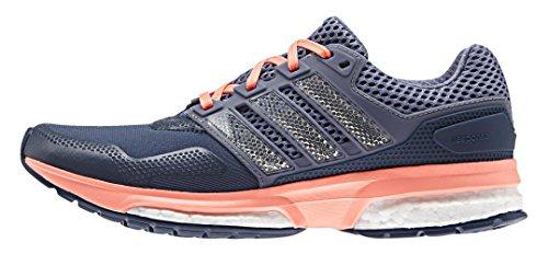 adidas Damen Response 2 Techfit W Laufschuhe, Azul / Morado / Rojo (Azumin / Morsup / Brisol), 39 1/3 EU