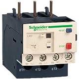 Schneider LR3D01 Motorschutzrelais, Thermisch, 0,1-0,16A, 1S+1Ö, Klasse 10, kein Differenzialschutz, Mehrfarbig