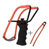 Hunting Slingshot Rubber Bands Adult Powerful Target Shooting Slingshot Hunting Bow Tools