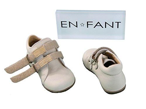 En-fant unisex bambini scarpe a strappo primi passi, pelle, 814127U Sabbia