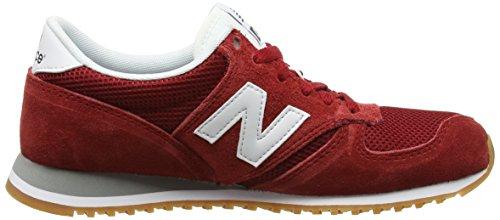 New 420 Erwachsene Rot Red Suede 70s Balance Sneakers Running Unisex PqPTU