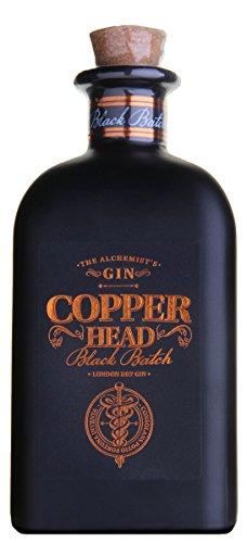 Copperhead Black Batch Gin (1 x 0.5 l)