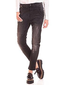 ICHI Jeans Boyfriend Desgastados