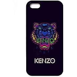Iphone 5/5s Coque KENZO Brand Logo Durable Cute Etui TPU Phone Coque Cover PpnnOlalab