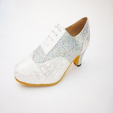 Wuyulunbi@ Donna Samba Sneaker giunzione interna Chunky tallone oro nero argento US7.5 / EU38 / UK5.5 / CN38