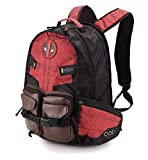 Marvel Deadpool Rucksack Laptop Outdoor Sport Rucksack für Jungen Schultasche