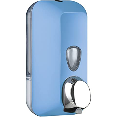 Dispenser Dosatore Distributore a Muro per Sapone foam in Schiuma a Cartuccia COLORATO SOFT TOUCH