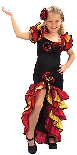 Ballsaal-Flamenco-Kostüm für Mädchen