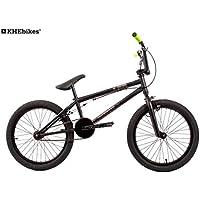 KHE BMX Fahrrad Barcode schwarz nur 11,3kg!