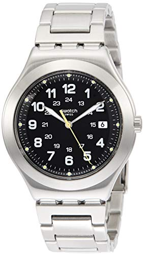 Swatch Orologio Analogico Quarzo Uomo con Cinturino in Acciaio Inox YWS439G