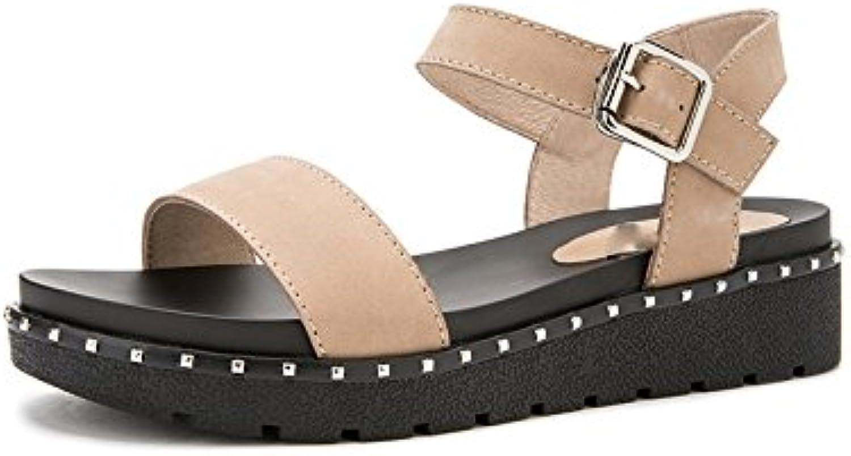 DHG Sandali estivi, Pantofole da donna alla moda, Sandali piatti casual, Sandali con tacco basso a tacco basso... | Materiali Selezionati Con Cura  | Uomo/Donne Scarpa
