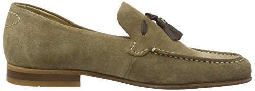 Hudson London Herren Bernini Slipper Braun (Tobacco)