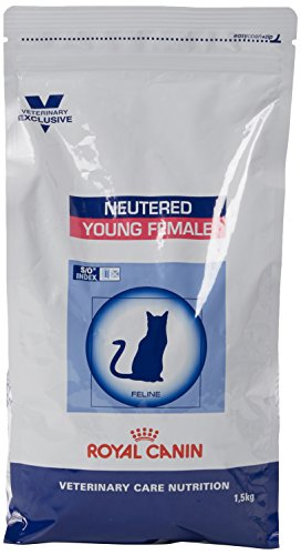 Royal Canin Vet Care Nutrition Cat Food Neutered Young Female 1.5 Kg 1
