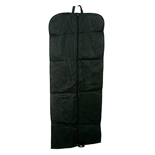 Kuber industrias fundas para la ropa bolsa de almacenamiento de polvo y tamaño plegable Viajes y–ideal para Kurti, vestido largo, Salwar Suit, Sherwani, abrigo y más–(60* 152cm)